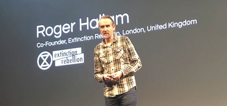 WorldWebForum 2020, Roger Hallam